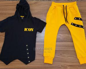 Boys Hooded Top and Joggers   Children's Clothing for sale in Ekiti State, Ado Ekiti