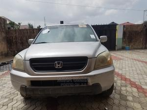Honda Pilot 2005 EX 4x4 (3.5L 6cyl 5A) Silver | Cars for sale in Lagos State, Ajah
