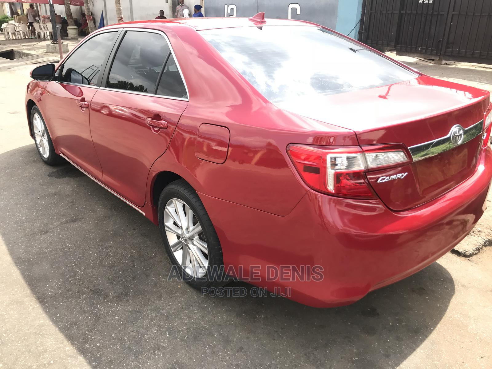 Toyota Camry 2012 Red | Cars for sale in Ikeja, Lagos State, Nigeria