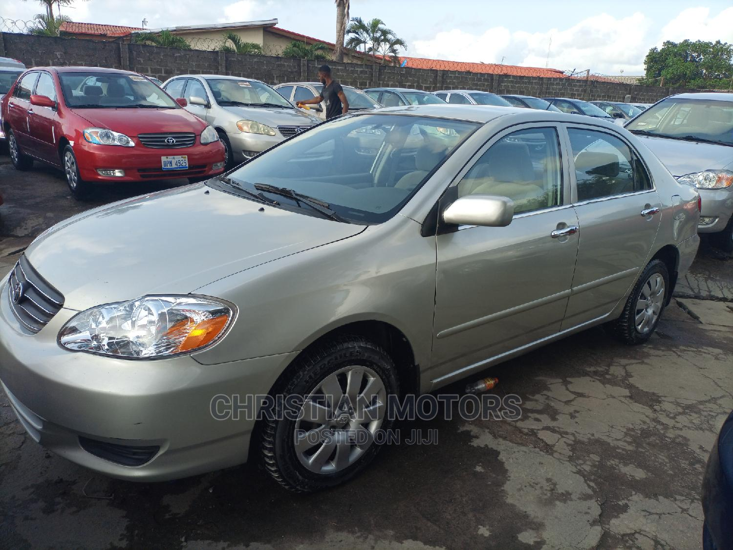 Toyota Corolla 2004 LE Red   Cars for sale in Apapa, Lagos State, Nigeria