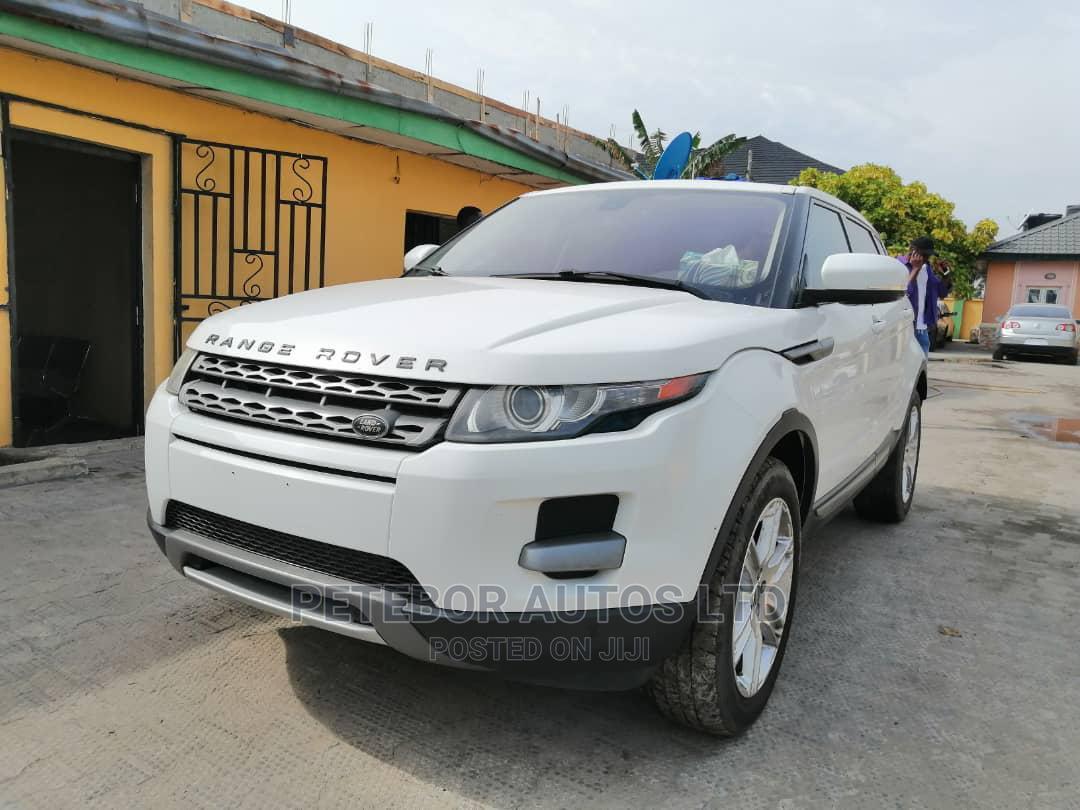 Land Rover Range Rover Evoque 2013 Pure Plus AWD White