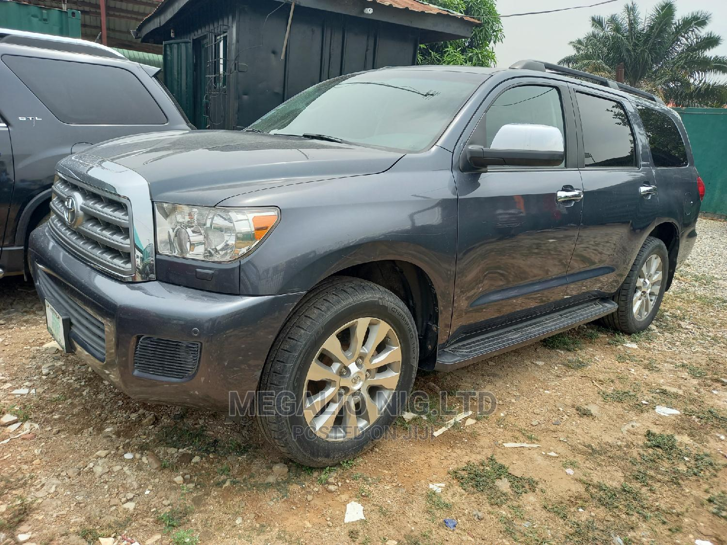 Toyota Sequoia 2010 Gray | Cars for sale in Ikeja, Lagos State, Nigeria