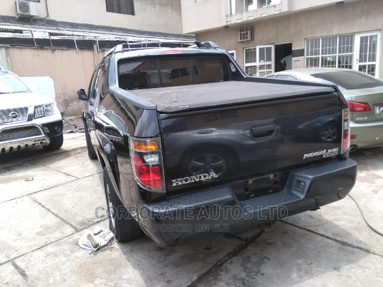 Honda Ridgeline 2007 Black | Cars for sale in Ojodu, Lagos State, Nigeria