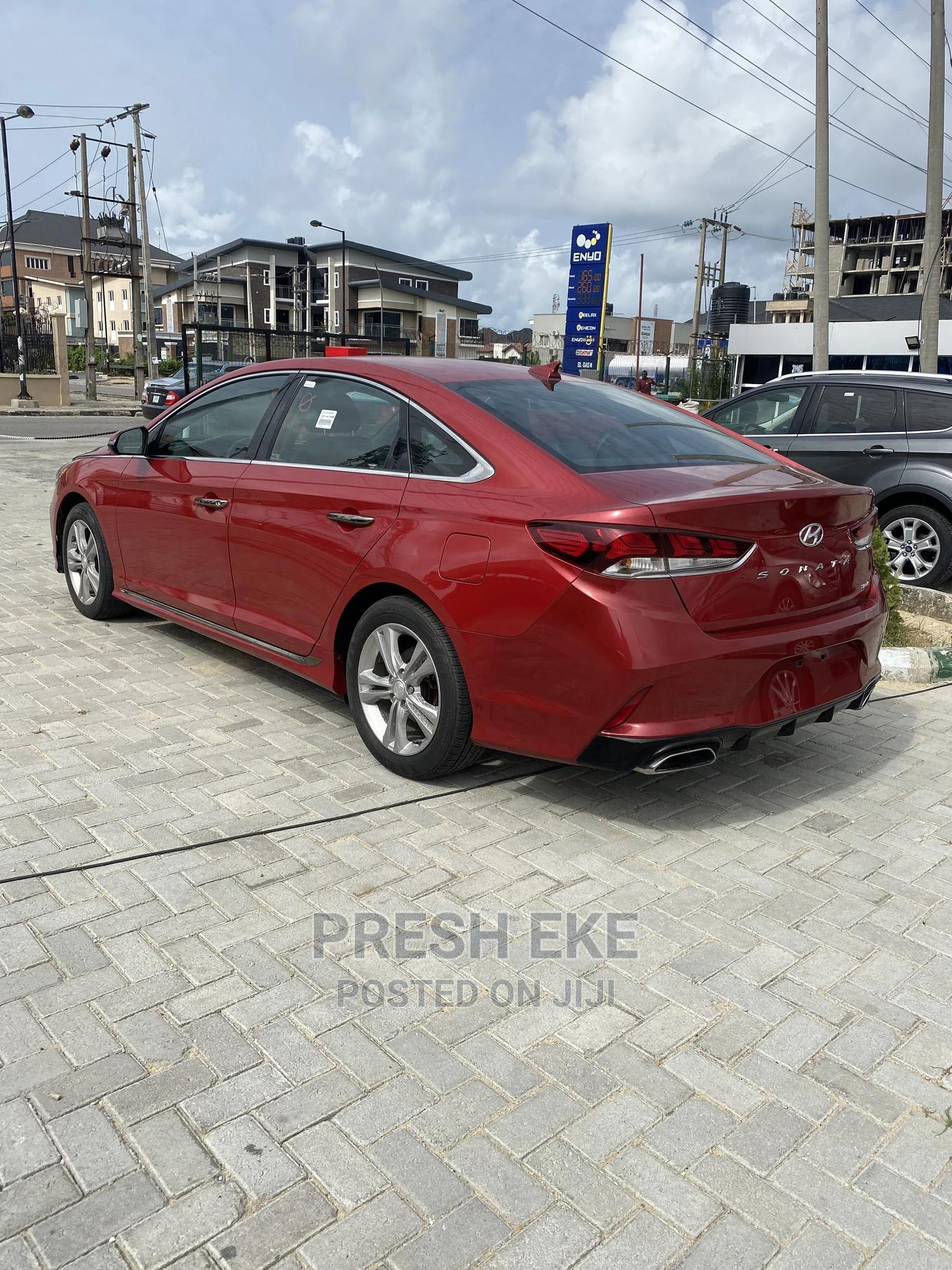 Hyundai Sonata 2017 Red | Cars for sale in Lekki, Lagos State, Nigeria