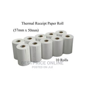 10 Rolls - Thermal POS Receipt Printer Paper - 57mm X 50mm C | Store Equipment for sale in Lagos State, Ikeja