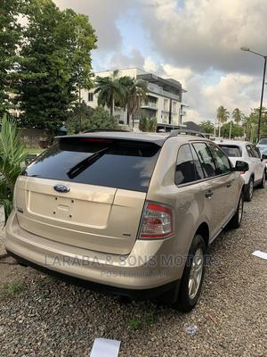 Ford Edge 2008 Gold   Cars for sale in Lagos State, Ikoyi