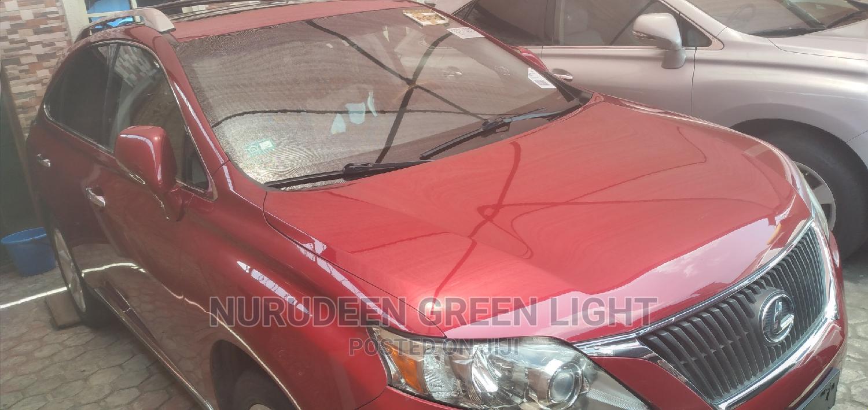 Lexus RX 2010 350 Red