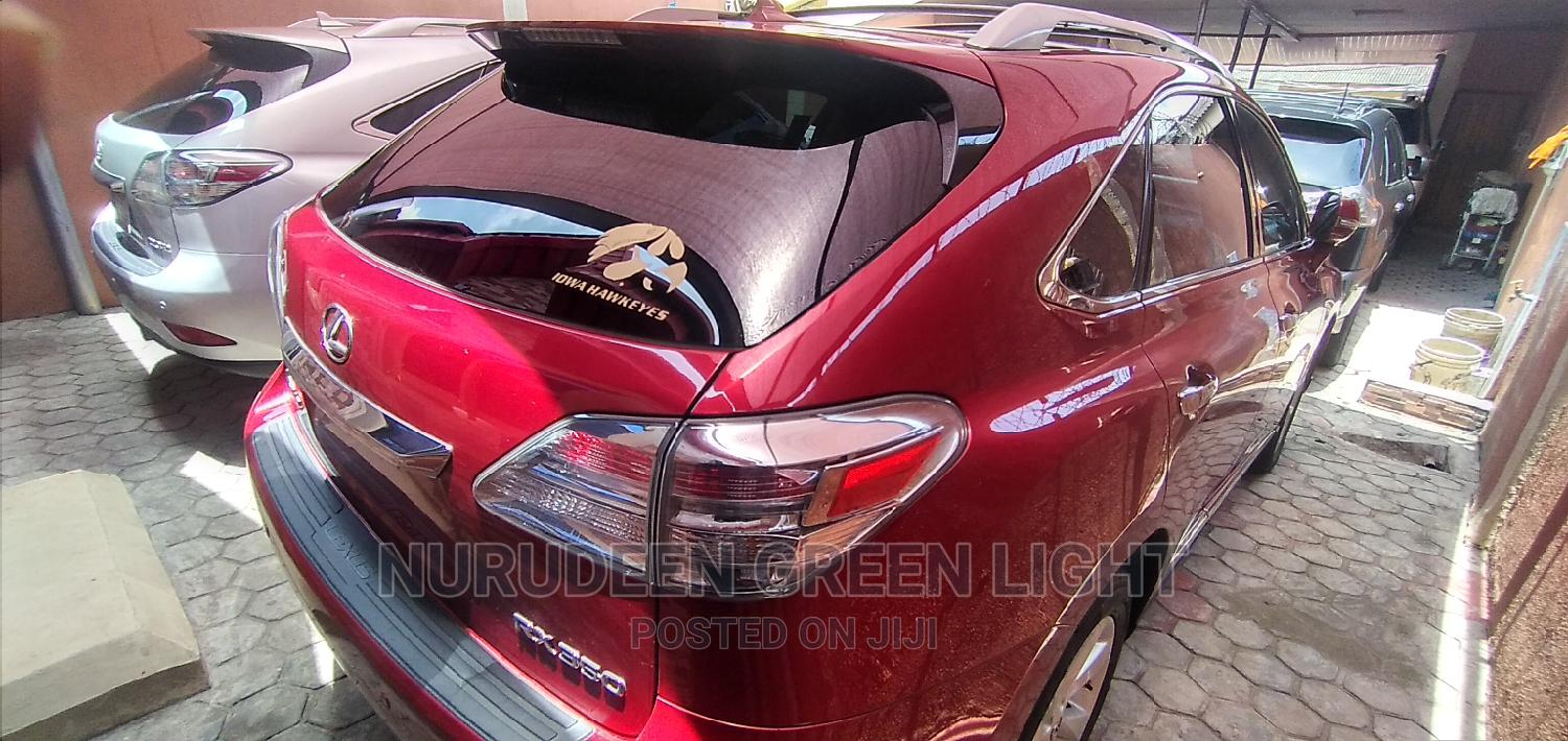 Lexus RX 2010 350 Red | Cars for sale in Surulere, Lagos State, Nigeria
