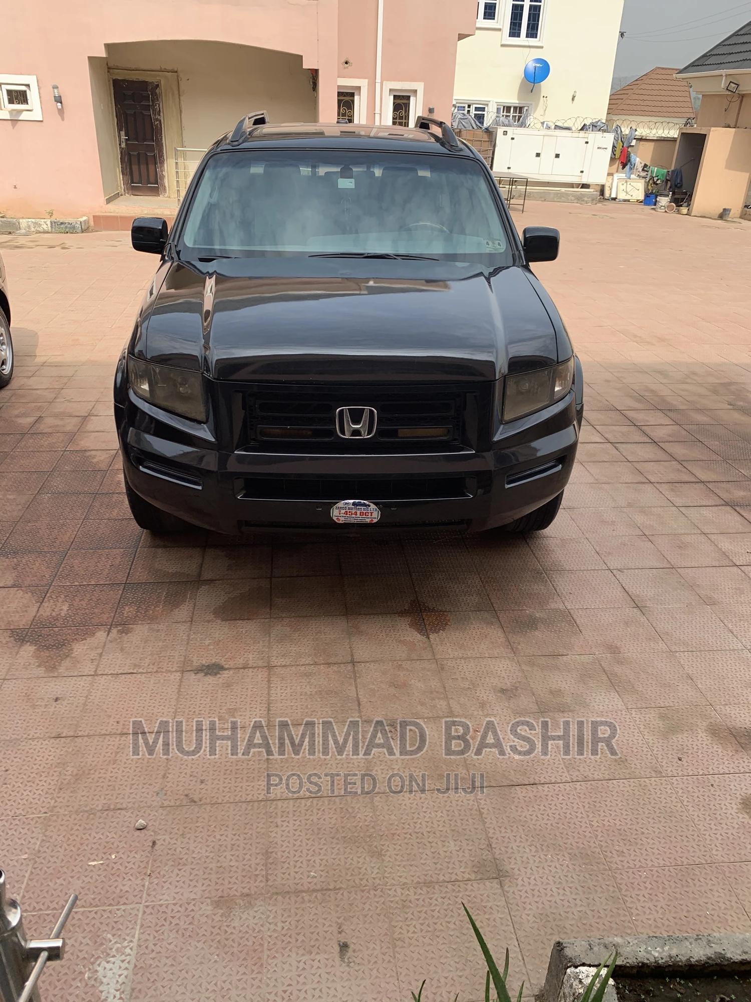 Honda Ridgeline 2008 RTX Black   Cars for sale in Gwarinpa, Abuja (FCT) State, Nigeria