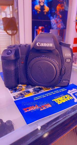 Canon EOS 5D Mark II 21.1MP Digital SLR Camera - Black | Photo & Video Cameras for sale in Lagos State, Ikeja