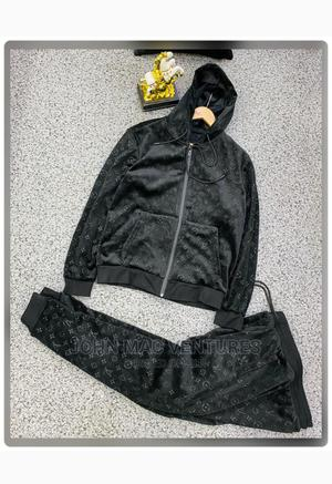 New Original Louis Vuitton Hoodies Top With Trousers   Clothing for sale in Lagos State, Ikeja