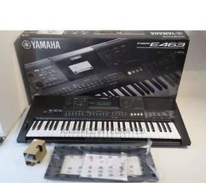 Yamaha Psr-E463 61-Keys Keyboard Piano With Adaptor Stand | Musical Instruments & Gear for sale in Lagos State, Ojo