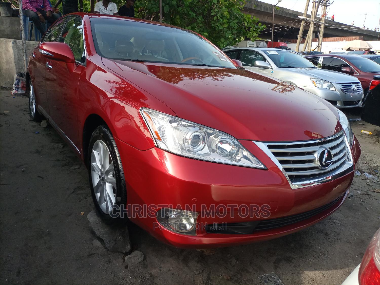 Lexus ES 2011 350 Red