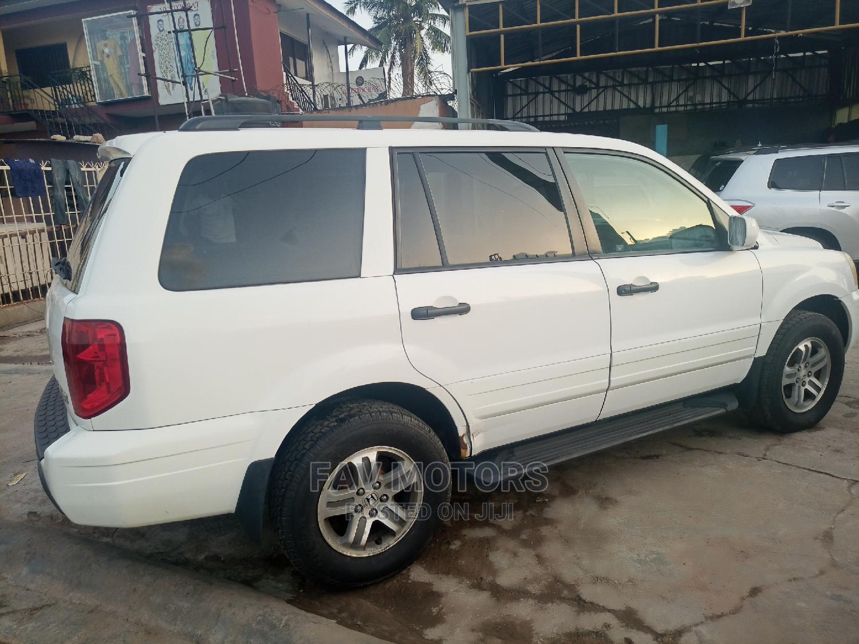 Honda Pilot 2004 White   Cars for sale in Ikeja, Lagos State, Nigeria