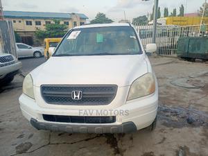 Honda Pilot 2004 White   Cars for sale in Lagos State, Ikeja