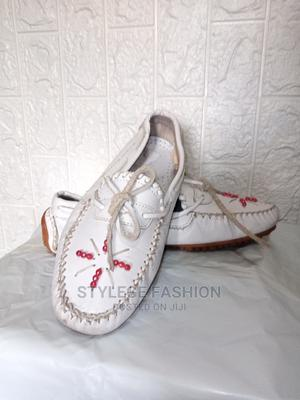 Slip on Leather Loafer - White   Shoes for sale in Lagos State, Ikeja
