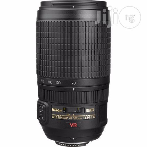 Nikon AF-S VR Zoom-nikkor 70-300mm F/4.5-5.6G IF-ED Lens | Accessories & Supplies for Electronics for sale in Port-Harcourt, Rivers State, Nigeria