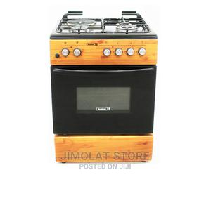 Ck-6312 Ng - 60X60 Cms ,Wood Finish , 3 Gas Burners(1 Wok+2   Kitchen Appliances for sale in Lagos State, Ikeja