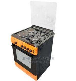 Ck-6222 Ng - 60X60 Cms ,Wood Finish , 2 Gas Burners(1 Wok+1   Kitchen Appliances for sale in Lagos State, Ikeja