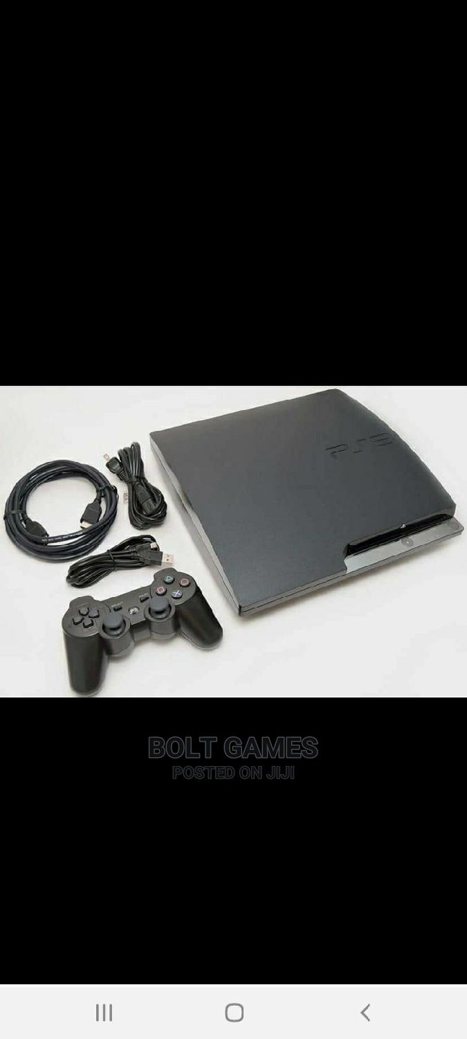 Archive: Playstation 3 Slim With 10 Games
