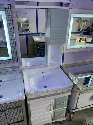 Cabinet Basin With Cabinet Mirror   Furniture for sale in Lagos State, Orile