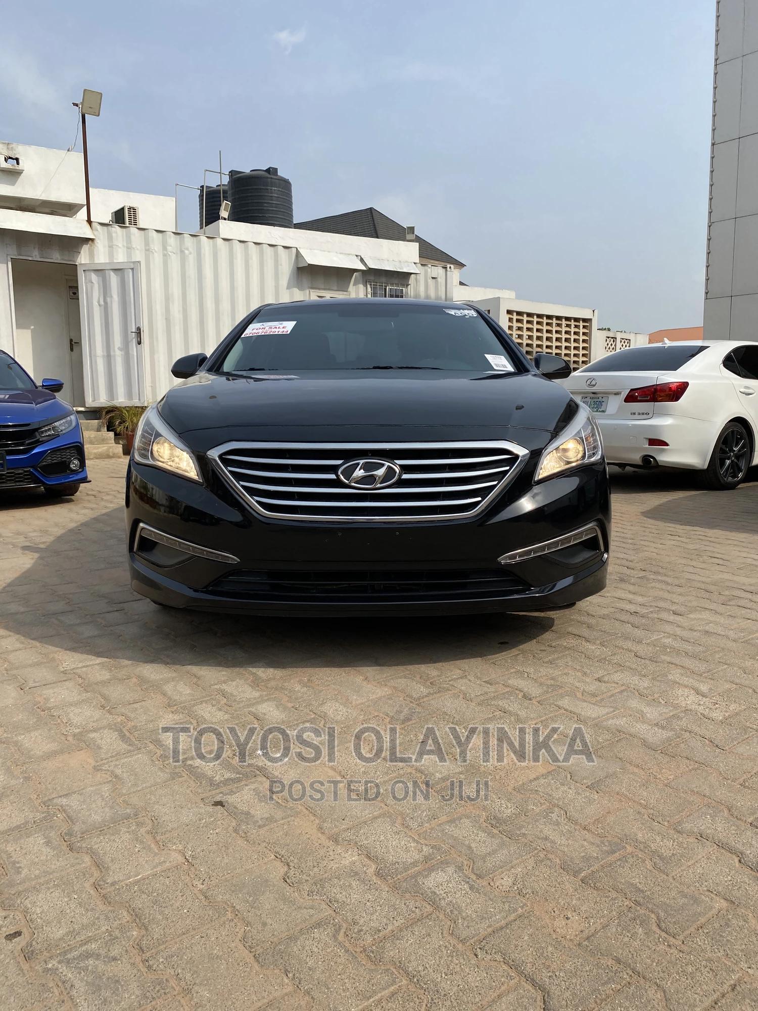 Hyundai Sonata 2016 Black