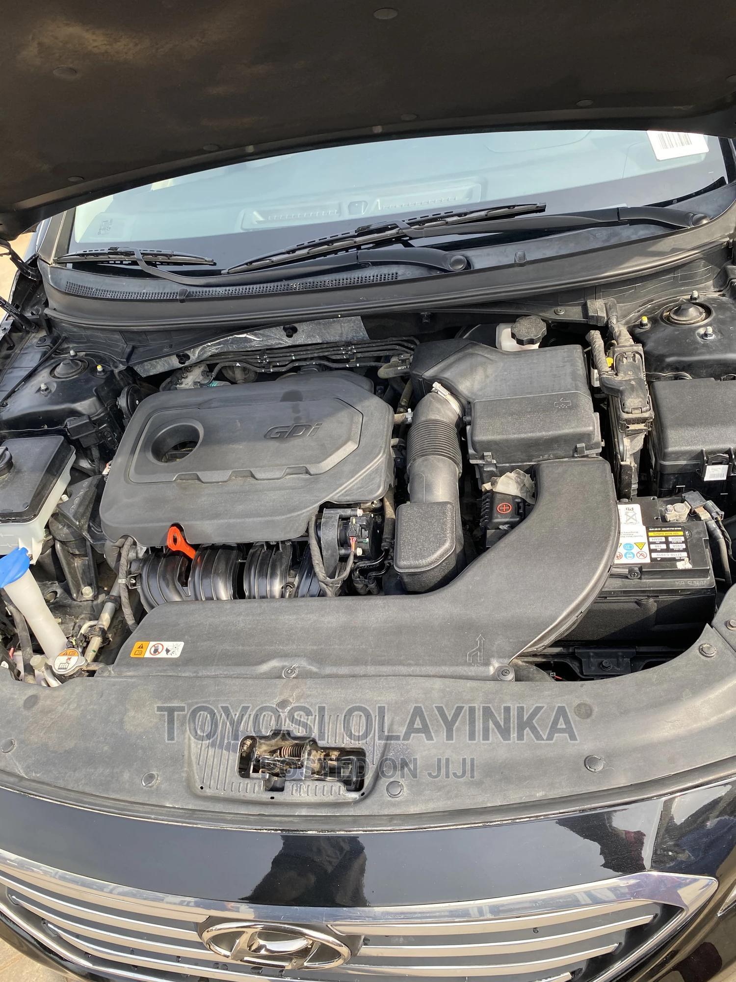 Hyundai Sonata 2016 Black | Cars for sale in Durumi, Abuja (FCT) State, Nigeria