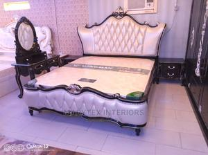 Royal Bed and Wardrobes With Side Bed   Furniture for sale in Lagos State, Surulere