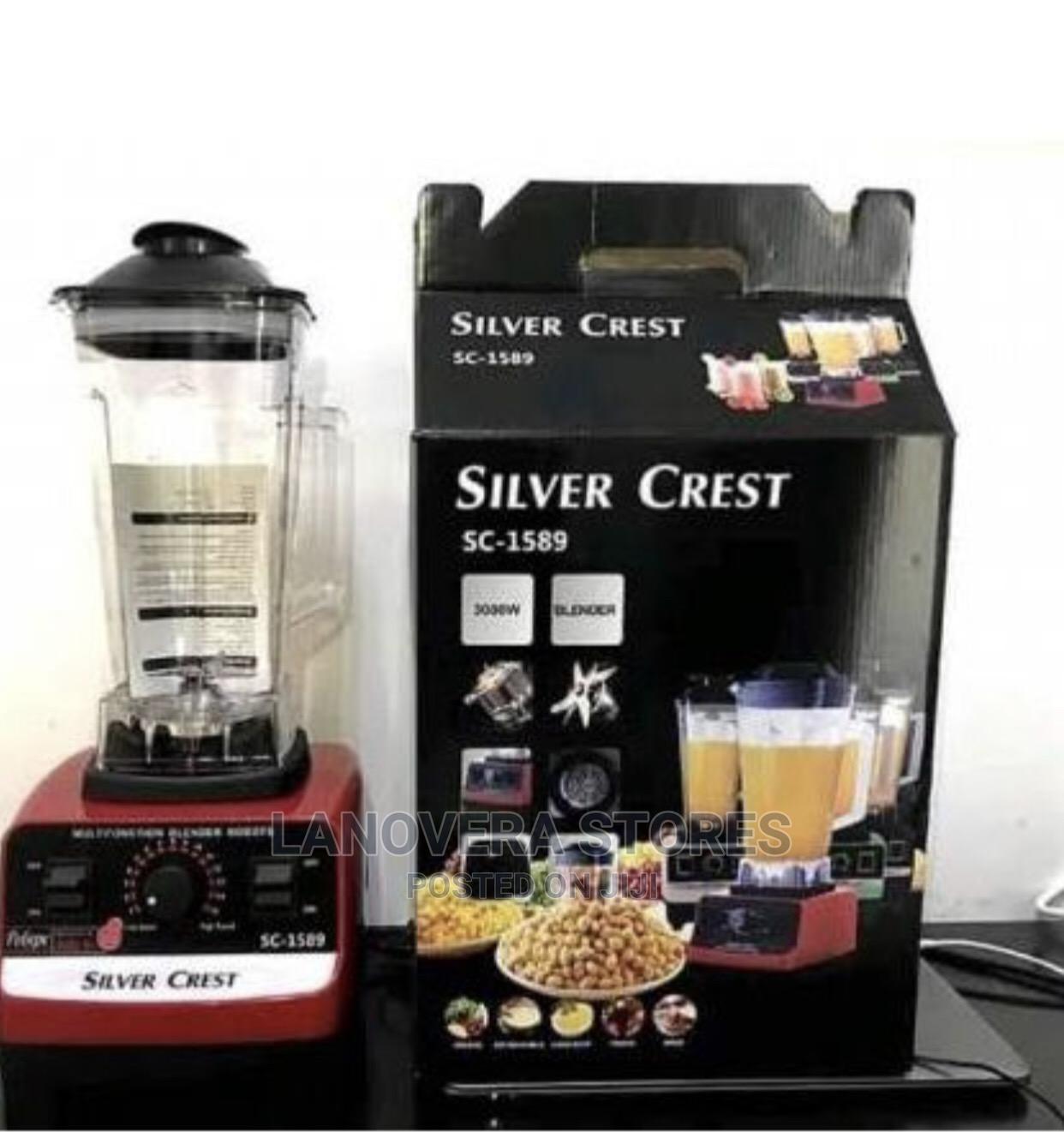 Silver Crest Blender