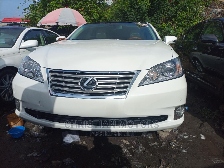 Lexus ES 2012 350 White
