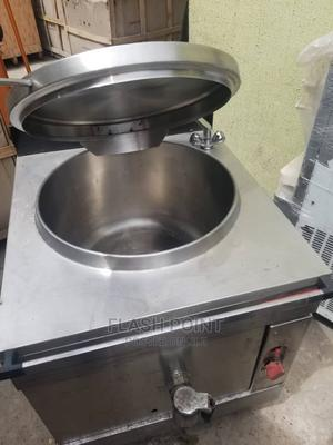 Industrial 100liter Boiling Pan Gas   Restaurant & Catering Equipment for sale in Lagos State, Ojo