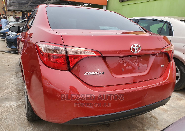 Toyota Corolla 2017 Red | Cars for sale in Ikeja, Lagos State, Nigeria