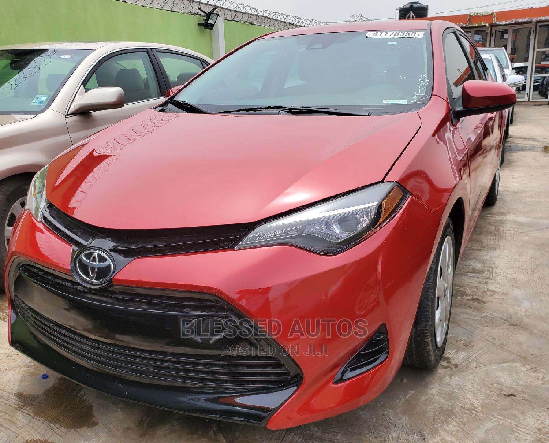 Toyota Corolla 2017 Red