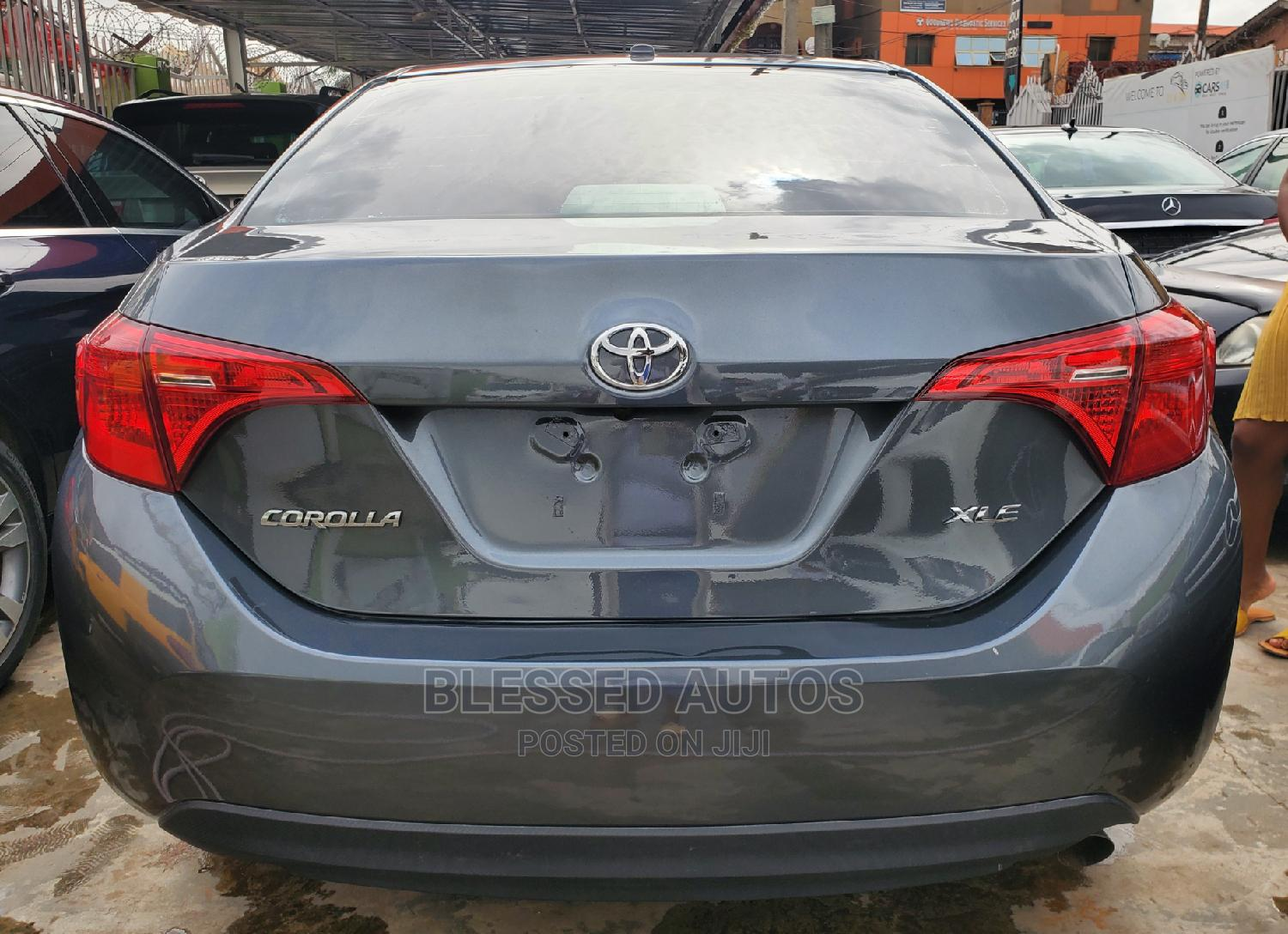 Toyota Corolla 2018 XLE (1.8L 4cyl 2A) Blue | Cars for sale in Ikeja, Lagos State, Nigeria