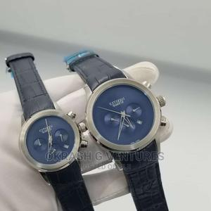 Citizen Chronograph Silver Leather Strap Watch for Couple's   Watches for sale in Lagos State, Lagos Island (Eko)