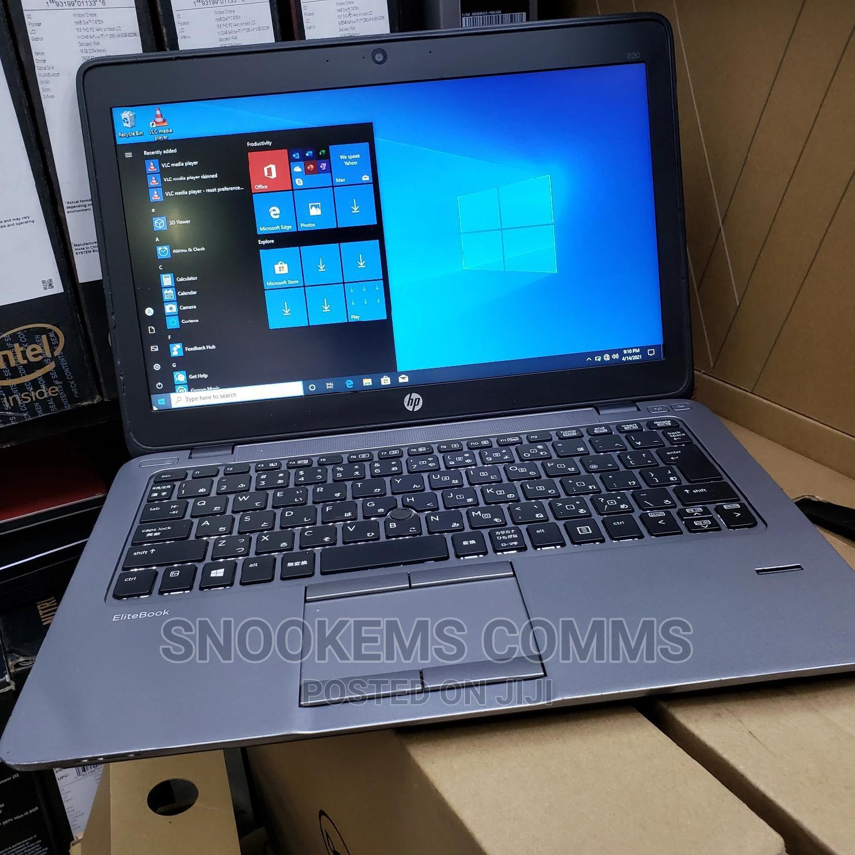 Laptop HP EliteBook 820 G2 4GB Intel Core I5 HDD 500GB   Laptops & Computers for sale in Ikeja, Lagos State, Nigeria