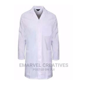 Laboratory Coat - White | Medical Supplies & Equipment for sale in Lagos State, Surulere
