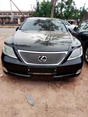 Lexus LS 2007 460 L Luxury Sedan Black | Cars for sale in Enugu State, Enugu