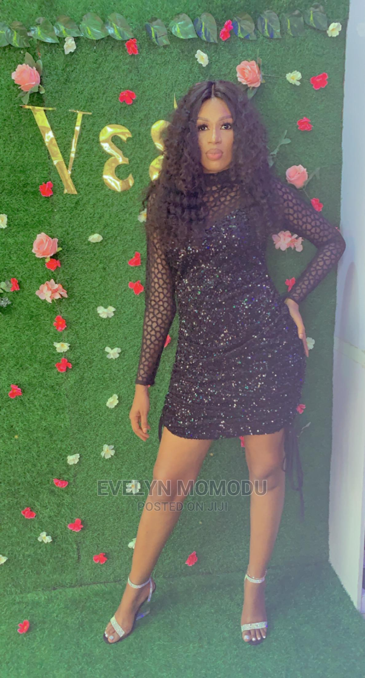 Black Sequin Dress | Clothing for sale in Port-Harcourt, Rivers State, Nigeria
