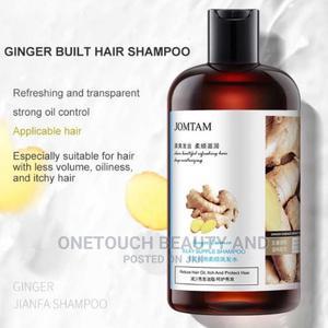JOMTAM Ginger Herbal Shampoo Anti-Hair Loss Dandruff | Hair Beauty for sale in Lagos State, Ojo