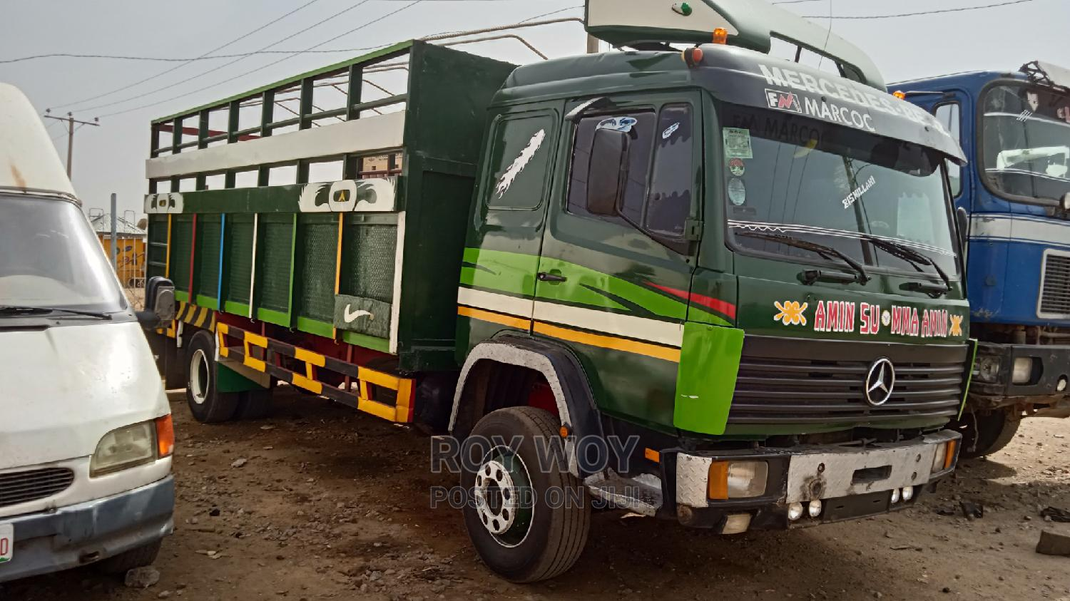 Mercedes Benz Truck 1117 With 8bolts, 6tyres