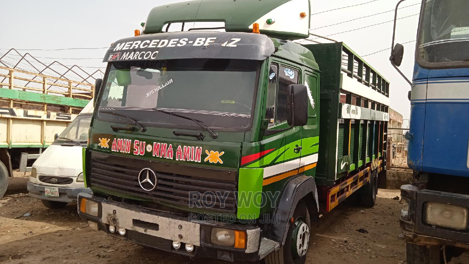 Mercedes Benz Truck 1117 With 8bolts, 6tyres  | Trucks & Trailers for sale in Zaria, Kaduna State, Nigeria