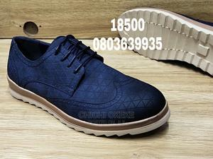 Blue Designers Big Sole Loafers Shoe   Shoes for sale in Lagos State, Surulere