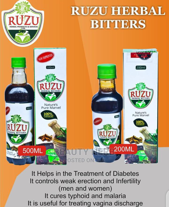 Ruzu Herbal Bitter for Both Male and Female   Vitamins & Supplements for sale in Lugbe District, Abuja (FCT) State, Nigeria