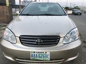 Toyota Corolla 2003 Sedan Automatic Gold   Cars for sale in Rivers State, Port-Harcourt