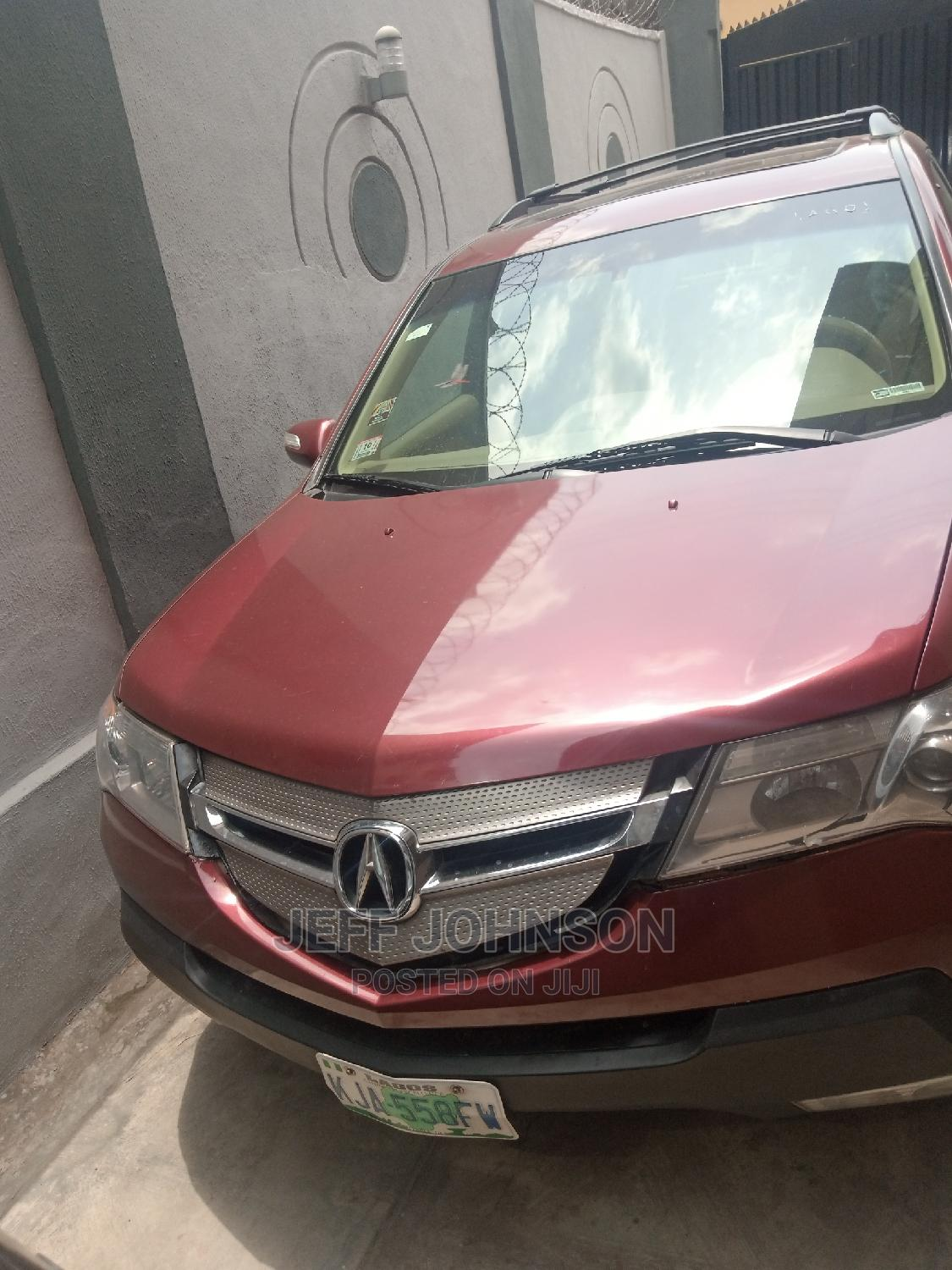 Archive: Acura MDX 2008 Red