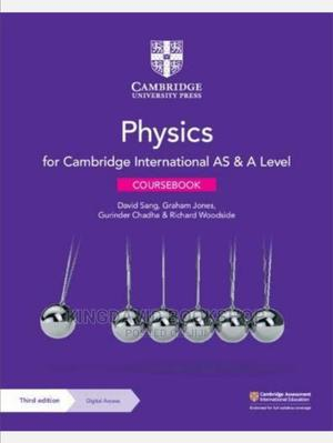 Cambridge International AS a Level Physics | Books & Games for sale in Lagos State, Surulere
