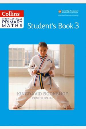 Collins International Maths Text Work Book 3   Books & Games for sale in Lagos State, Surulere