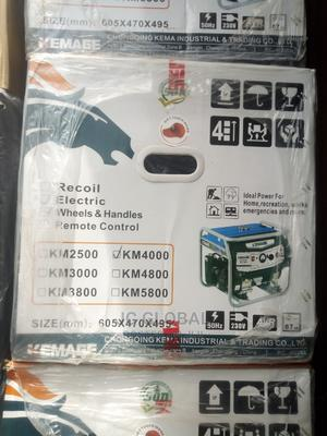 Kemage Generator Km4000 100% Cooper | Electrical Equipment for sale in Lagos State, Maryland