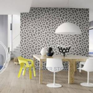 Black and White Animal Print Wallpaper Rasch | Home Accessories for sale in Lagos State, Ikeja